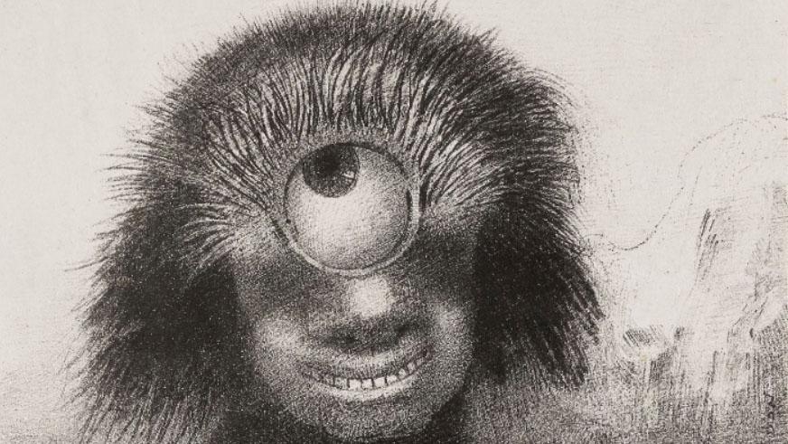 オディロン・ルドンが描いた第三の目(サードアイ)は幽界のもの?